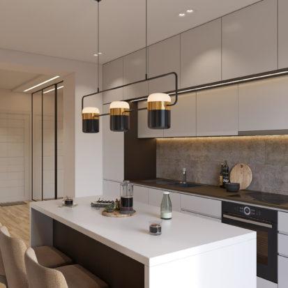 Дизайн квартиры Киев кухня