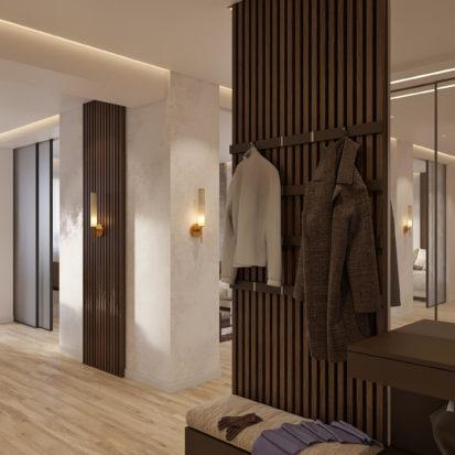 Дизайн квартиры Киев прихожая