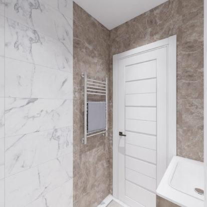 Дизайн туалета в четырехкомнатной квартире Киев