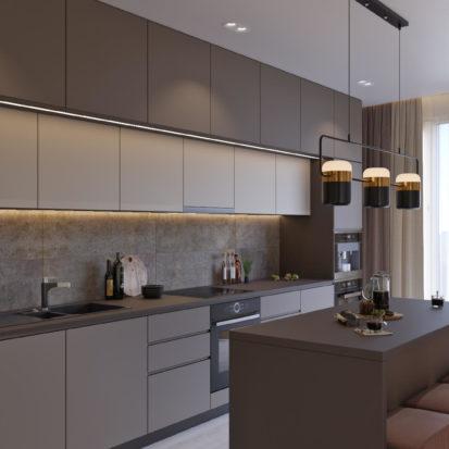 Кухня студия дизайн в Киеве