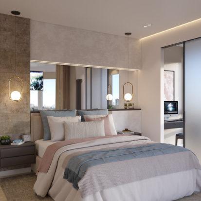 Спальня дизайн в Киеве 4х комнатная квартира
