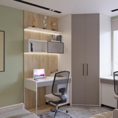 Детская дизайн трехкомнатной квартиры Днепр