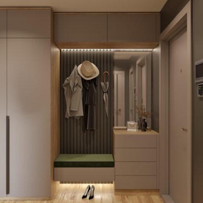 Дизайн Прихожей в 3х комнатной квартире