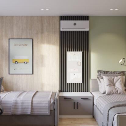 Дизайн детской 3х комнатная квартира Днепр