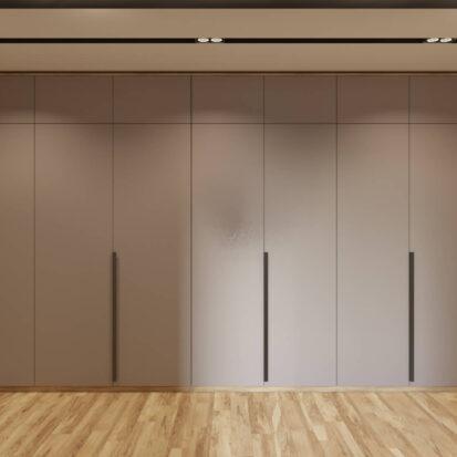 Дизайн интерьера прихожей в трехкомнатной квартире Днепр