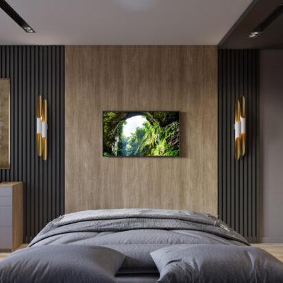 Дизайн спальни 3х комнатная квартира Днепр