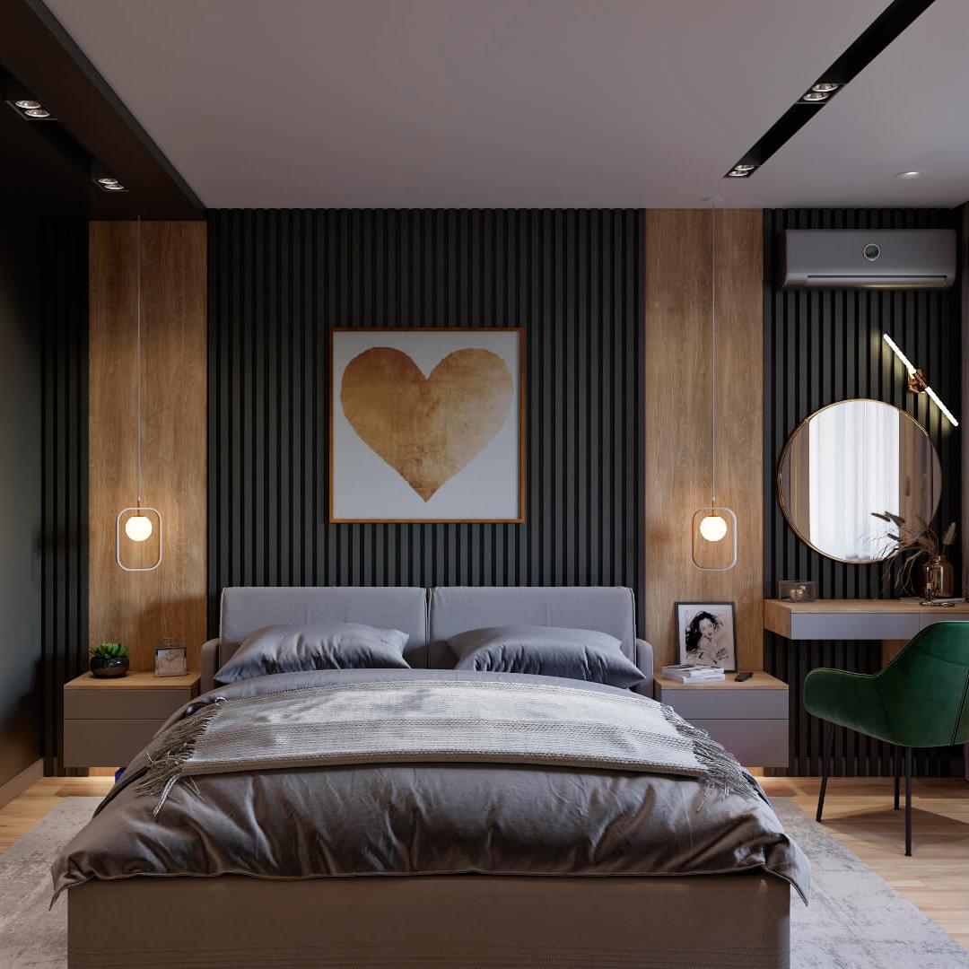 Дизайн трехкомнатной квартиры Днепр, Dofamine