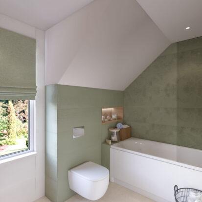 Дизайн ванной дом Киев
