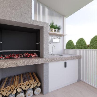 Дизайн дома Киев барбекю