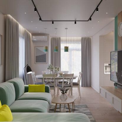 Дизайн дома Киев гостиная