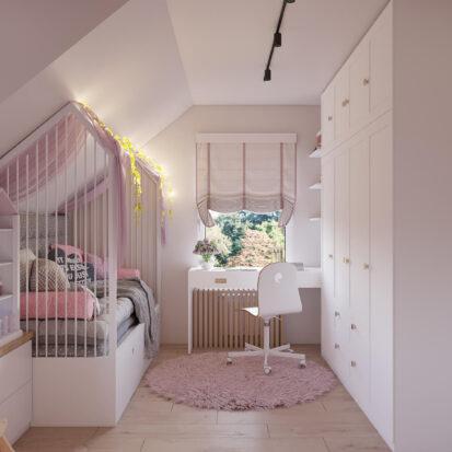 Дизайн дома Киев детская для девочки