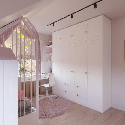 Дизайн дома Киев интерьер детской для девочки