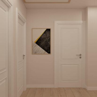 Дизайн дома Киев коридор второй этаж