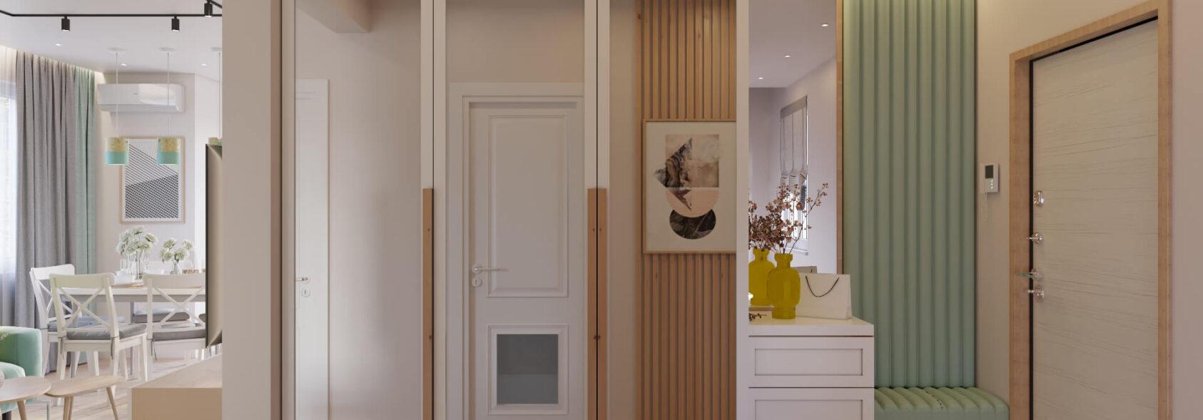 Дизайн дома Киев коридор прихожая