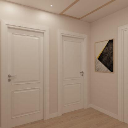 Дизайн дома Киев коридор 2й этаж