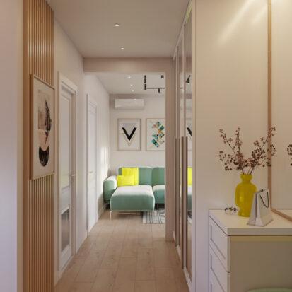 Дизайн дома Киев коридор