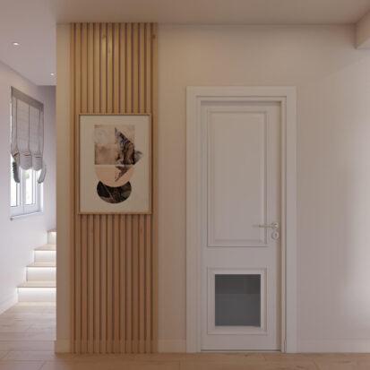 Дизайн дома Киев прихожая лестница