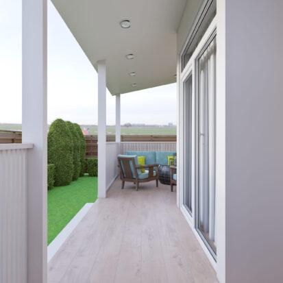 Дизайн дома Киев открытая терраса