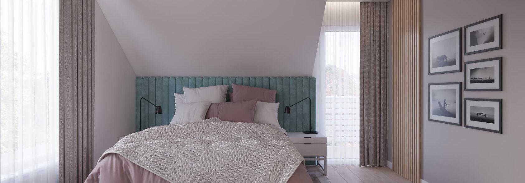 Дизайн дома Киев спальня