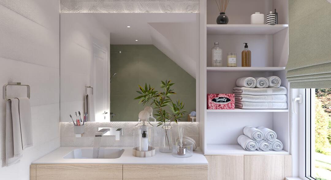 Дизайн жилого дома Киев ванная