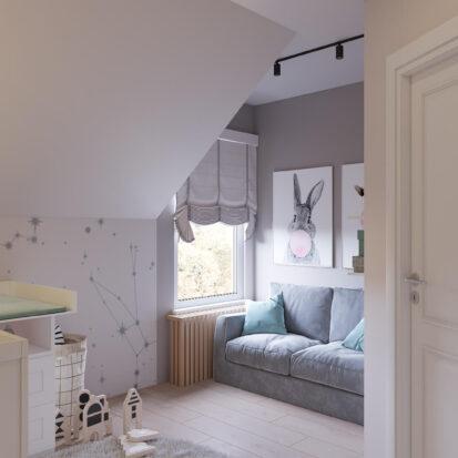 Дизайн жилого дома Киев детская мальчика