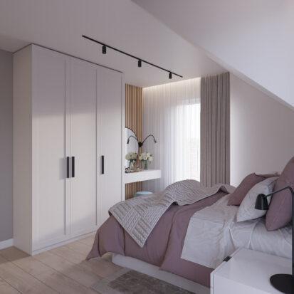 Дизайн интерьера дом Киев спальня