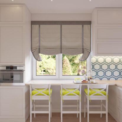 Дизайн интерьера кухни дом Киев