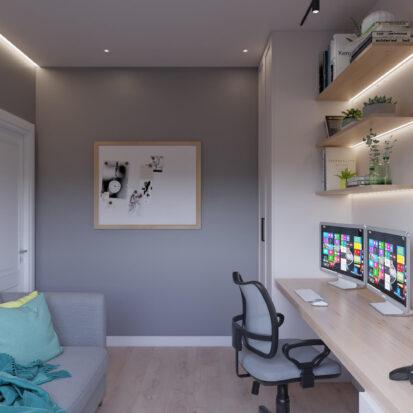 Дизайн кабинета дом Киев