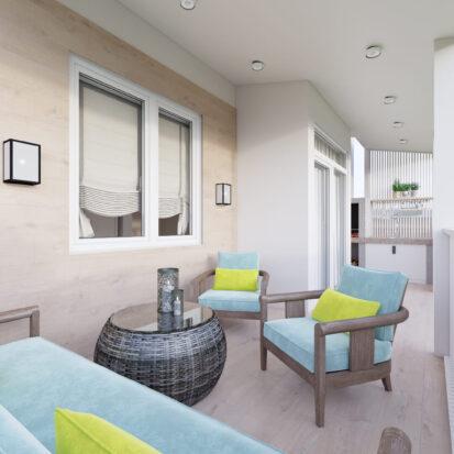 Дизайн террасы дом Киев