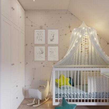 Дом Киев дизайн детской для мальчика