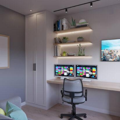 Дом Киев дизайн кабинета