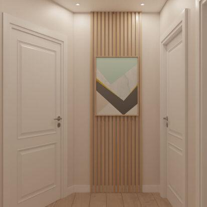 Дом Киев дизайн коридора 2й этаж