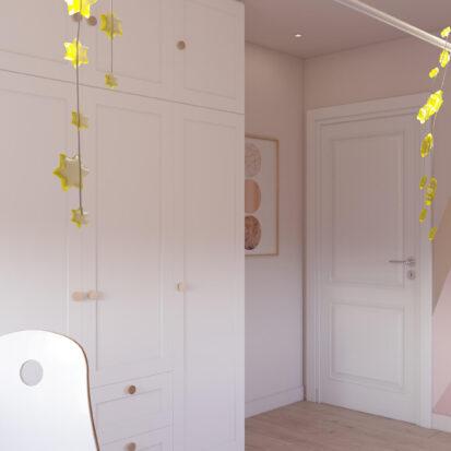 Интерьер детской девочки дом Киев