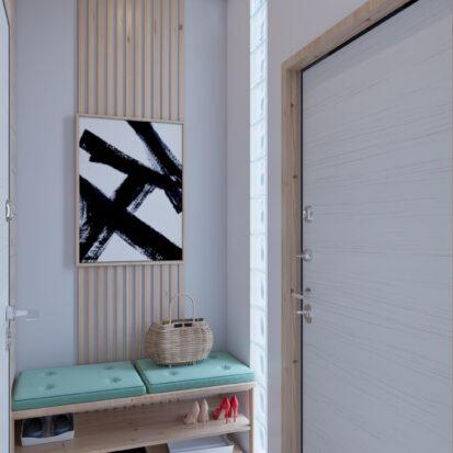 Элитный дизайн дома Киев прихожая