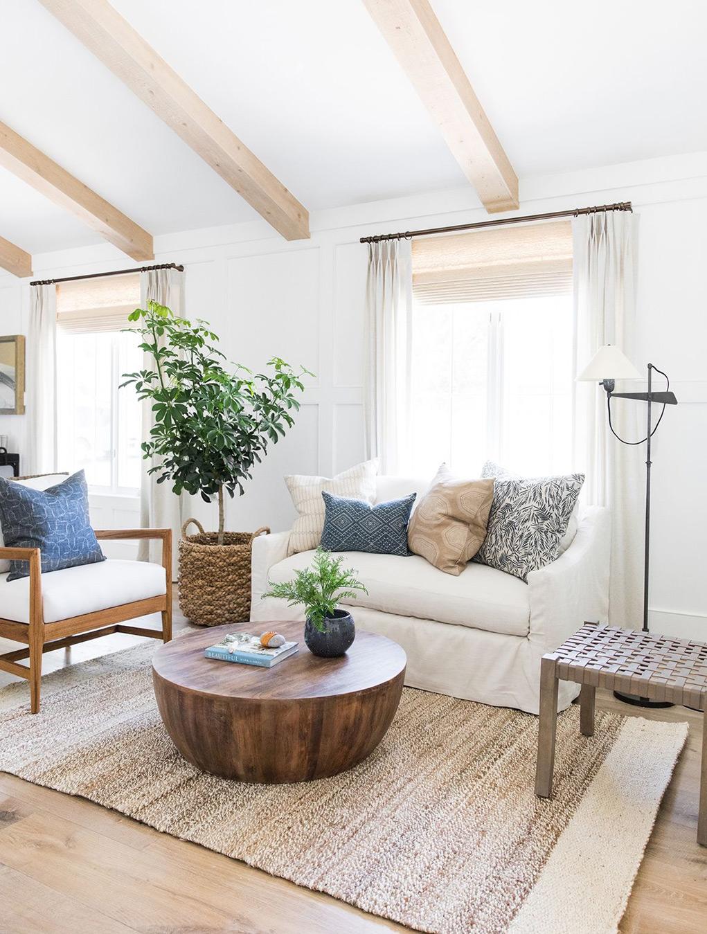 дизайн проект гостиной дома