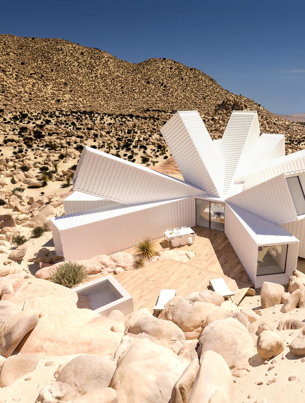 Архитектурный проект дома будущего