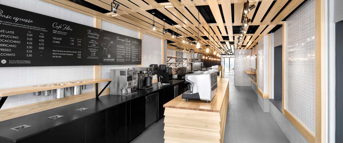 Дизайн кафе, Dofamine