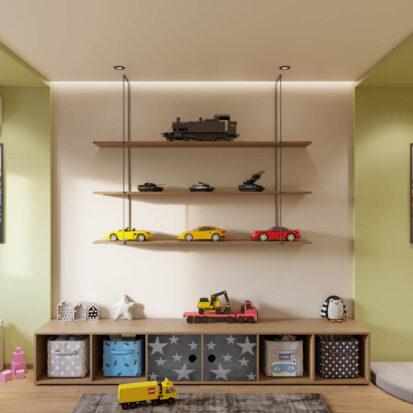 Детская дизайн квартиры Запорожье