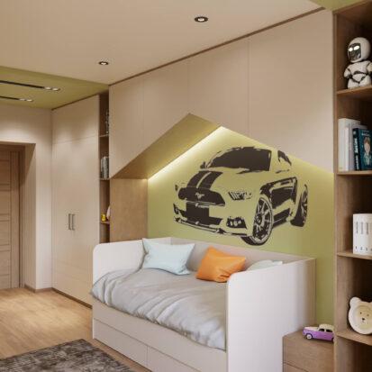 Детская для мальчика дизайн квартиры Запорожье