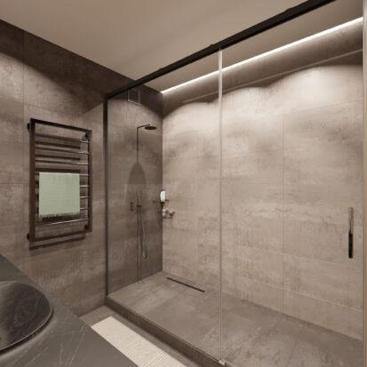 Дизайн квартиры Запорожье ванная проект