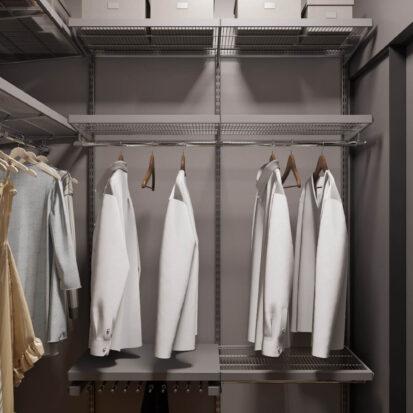 Дизайн квартиры Запорожье гардеробная в новостройке