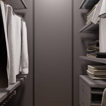 Современный дизайн квартиры - гардеробная