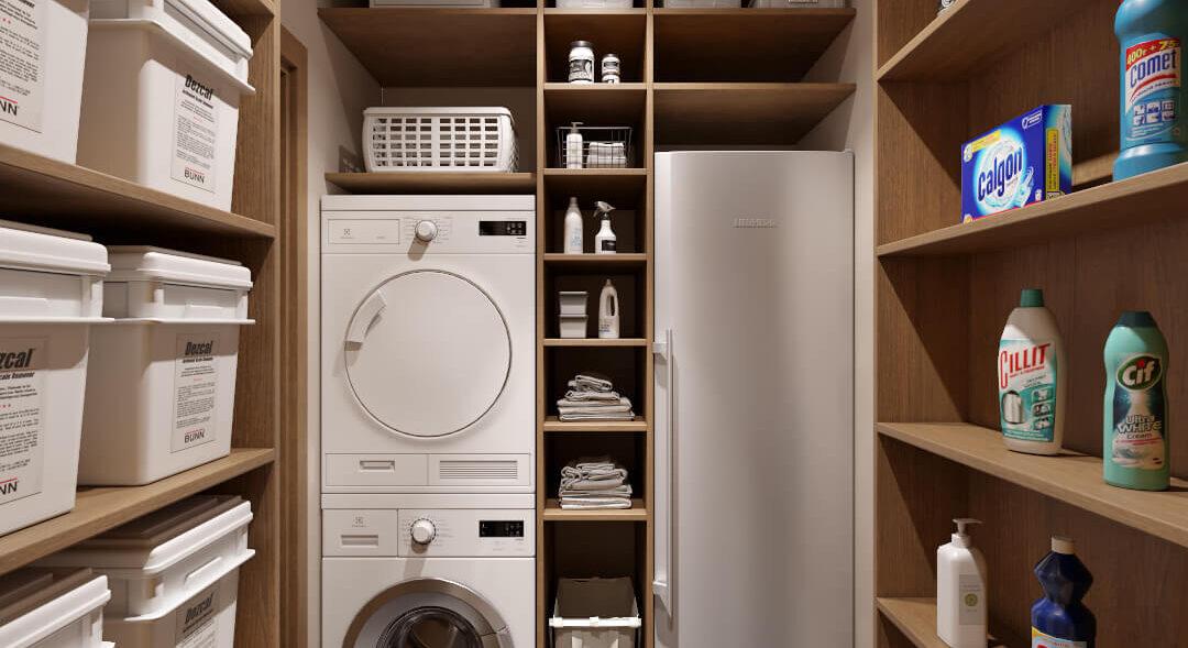 Современный дизайн квартиры - кладовая