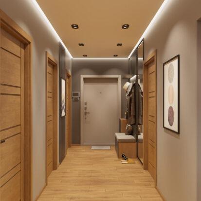 Современный дизайн квартиры - прихожая