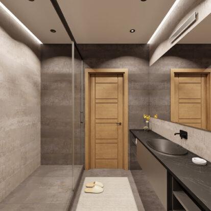 Дизайн квартиры Запорожье раздельная ванная