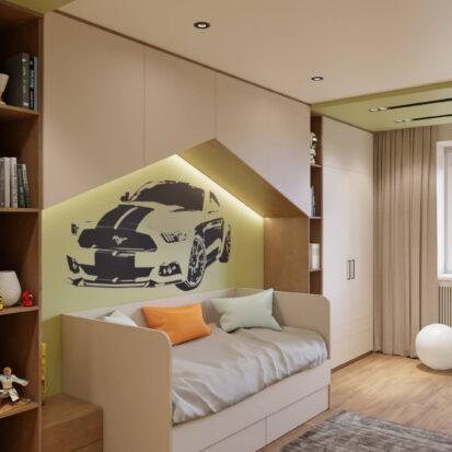 Современный дизайн квартиры - детская