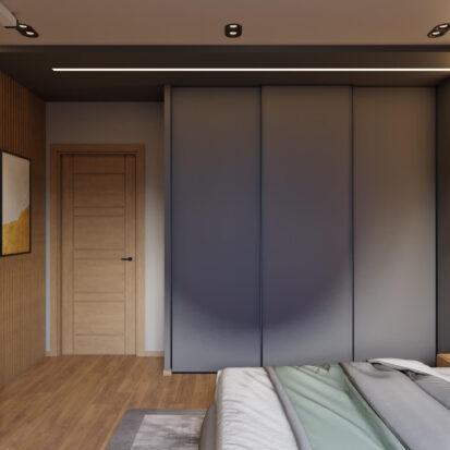 Дизайн квартиры Запорожье спальня ремонт