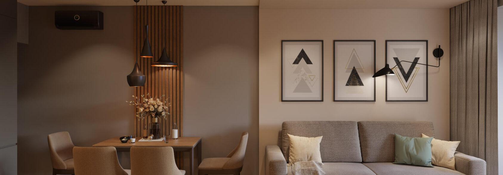 Современный дизайн квартиры Запорожье