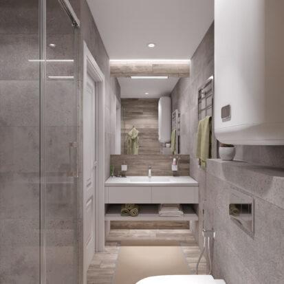 Дизайн и ремонт дома Запорожье ванная