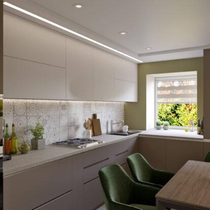 Дизайн и ремонт дома Запорожье кухня